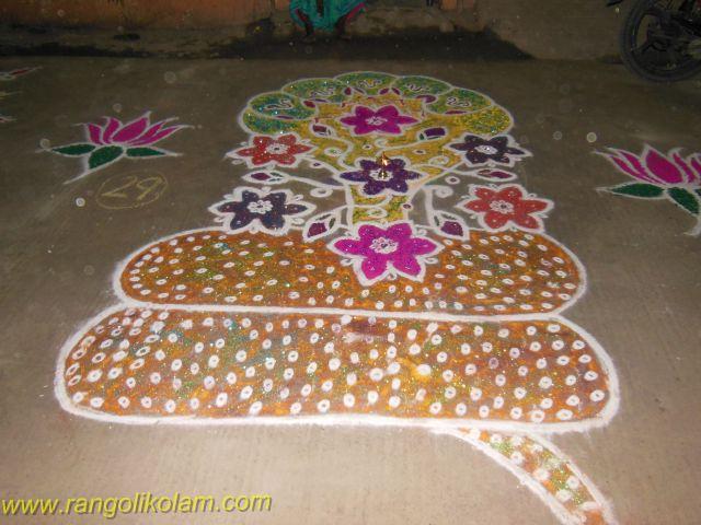 15pulli 8 pullikolam in Adyar