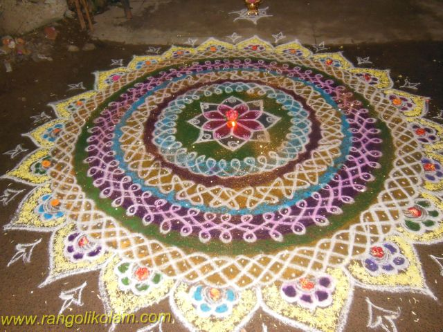 Different sikku kolam