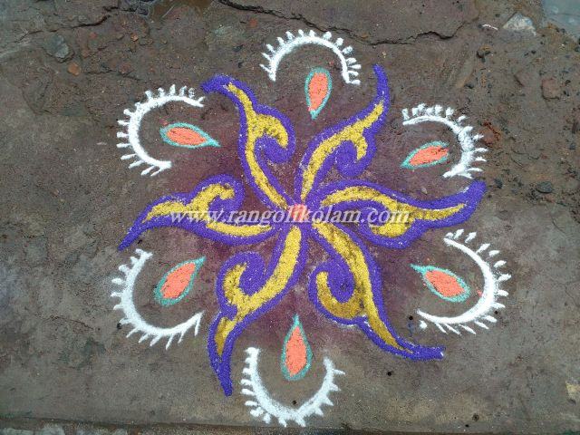 Friday evening kolam
