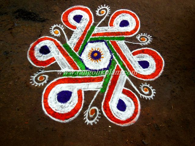 Different kolam