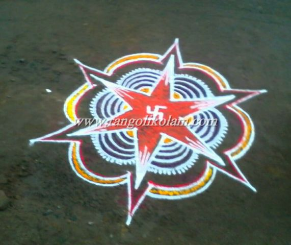 star design kolam