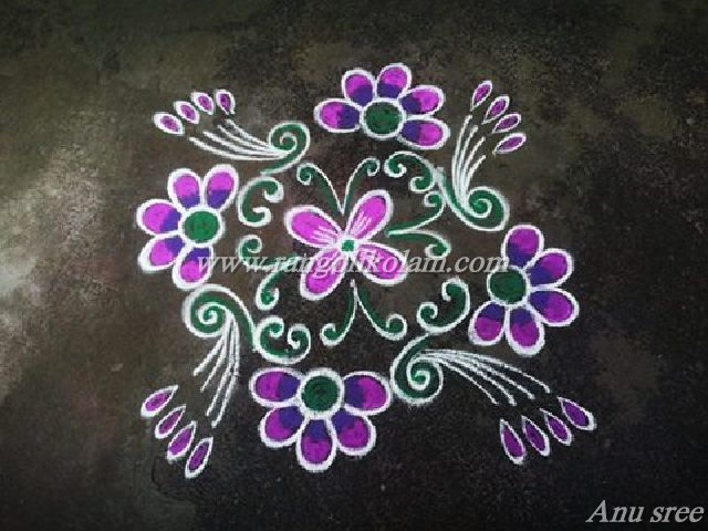 flower kolam AS3