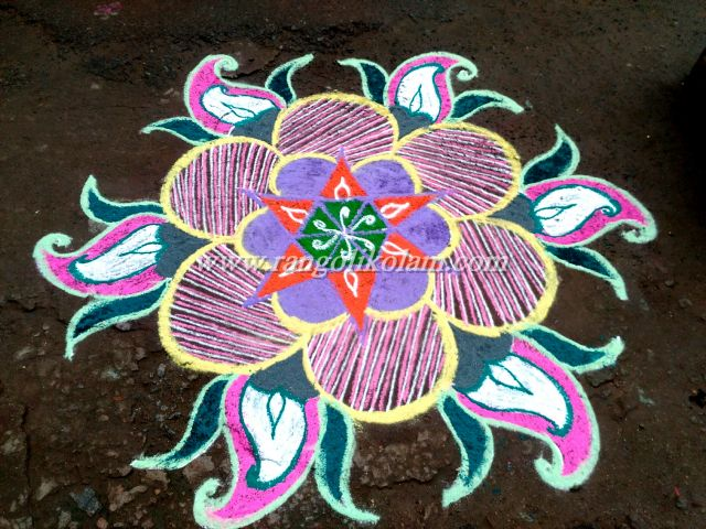 flower kolam 466
