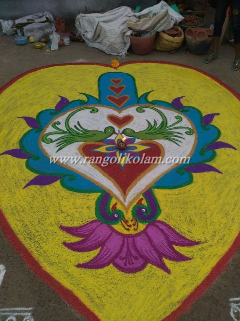 competition kolam