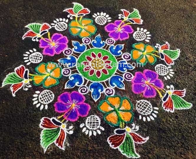 Latest kolam