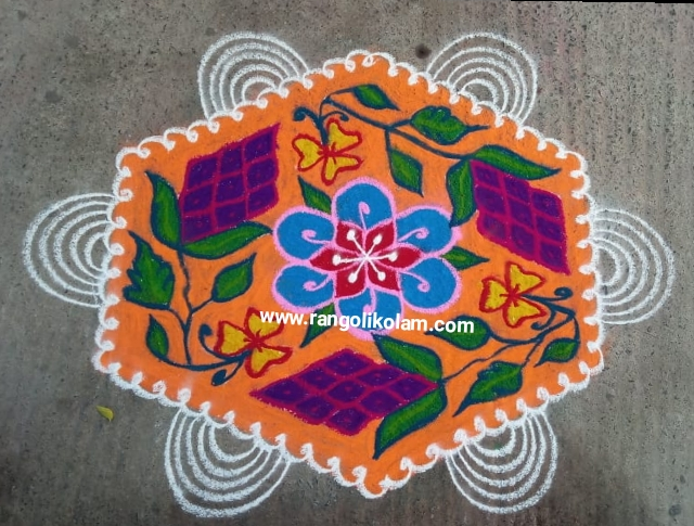 Grapes kolam