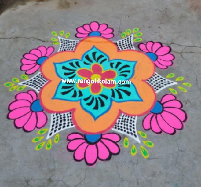 Rangolikolam833